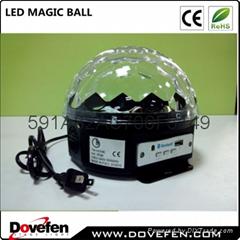 Christmas new year event LED Crystal Magic Ball light