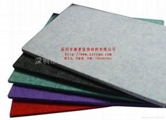 深圳踏普聚酯纤纤维防火吸音板