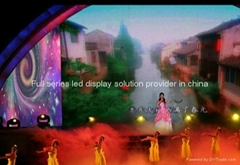 indoor led video wall for stage decoration