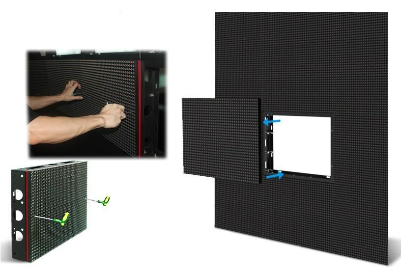 front access high quality RGB led display made in china  4