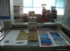 Foam honeycomb board paper promtion display stand cutting machine