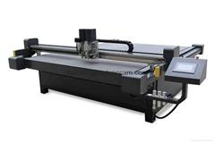 60mm EPE PE rubber foam oscillating knife cutting machine