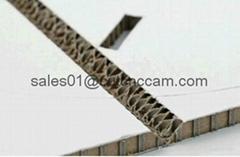 Packaging sample folding V cut creasing scoring cutting machine