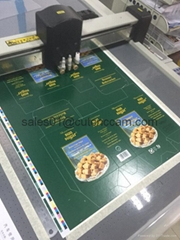 Printed paperboard box sample automatic