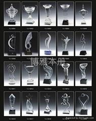 深圳水晶奖杯生产