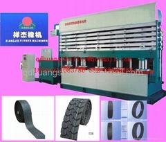 jaw type tyre retreading machine