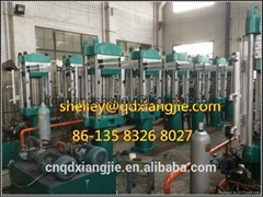 Rubber  slipper  sole  making machine