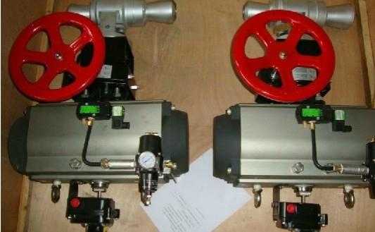 美國艾諾氣功執行器驅動美國SST球閥
