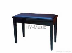 双人钢琴凳