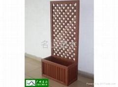 木塑組合花箱