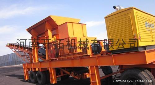 移動式煤焦炭破碎機 1