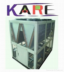 Chiller for extruding machine