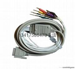 日本光电心电导联线