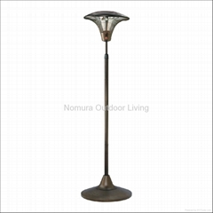Oil-Rubbed-Bronze Outdoor Electric Heater