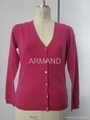 womens cable cashmere cardigan