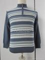 stripe cashmere pullover sweater 1