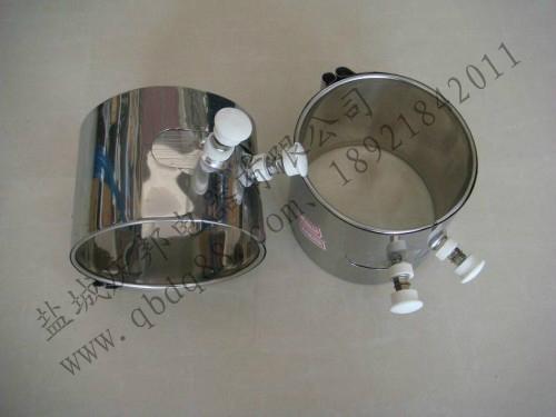 注塑机加热圈可根据用户需求的接线方式加接线盒,标准插座等,电压12