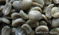arabica green coffee bean AA grade from yunnan china