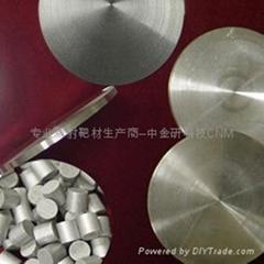 溅射靶材高纯钛靶 4N-5N LED半导体行业专用靶材