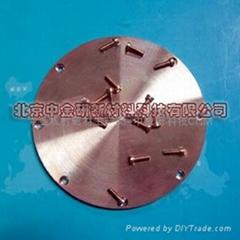 高纯度单质金属溅射靶材