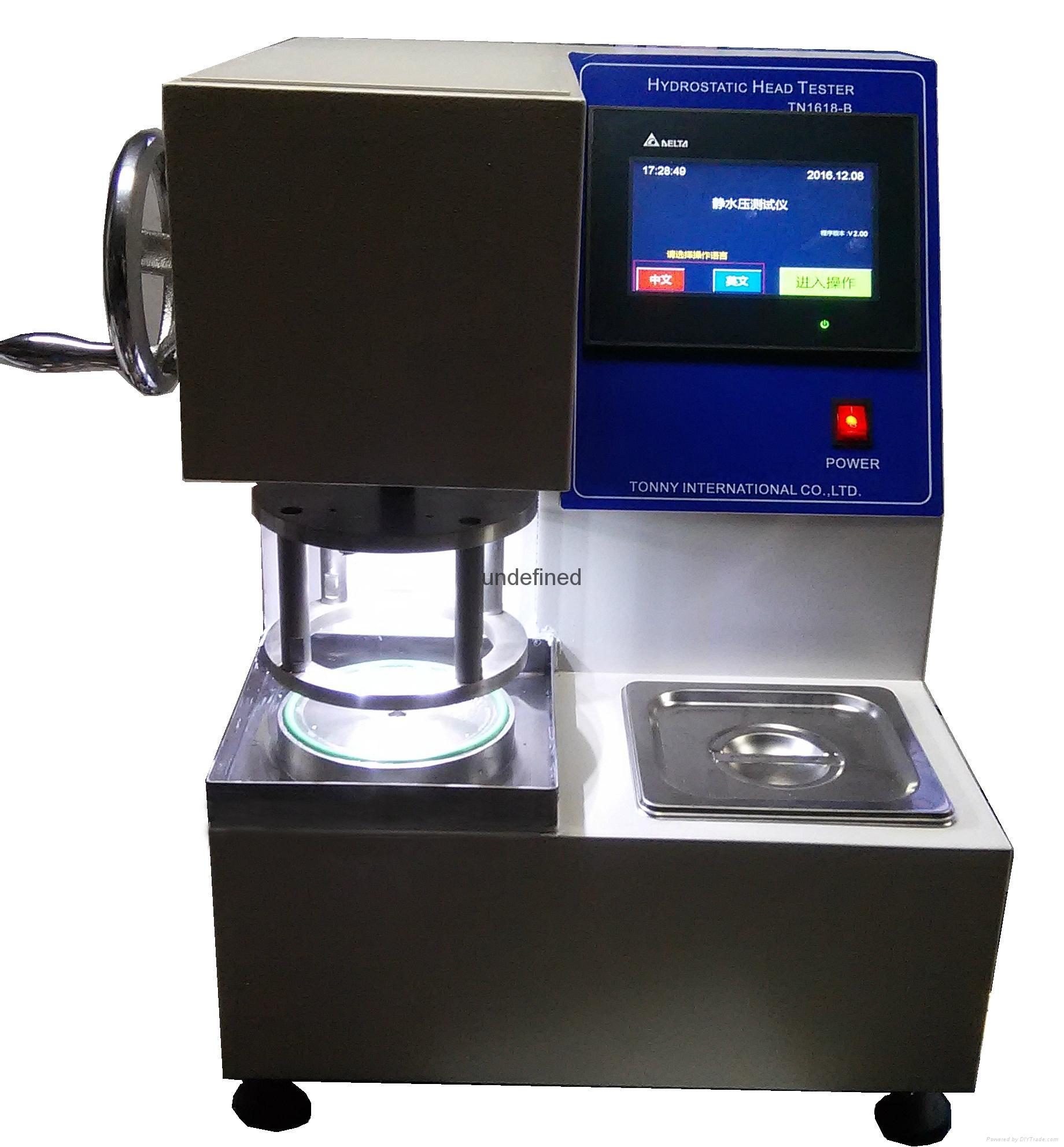 智能式静水压试验机,抗渗水性测定仪 ISO 811,AATCC 127-通铭 1