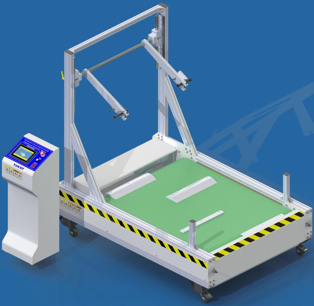 Irregular Surface Test Equipment Dynamic Durability Tester EN1888:2018