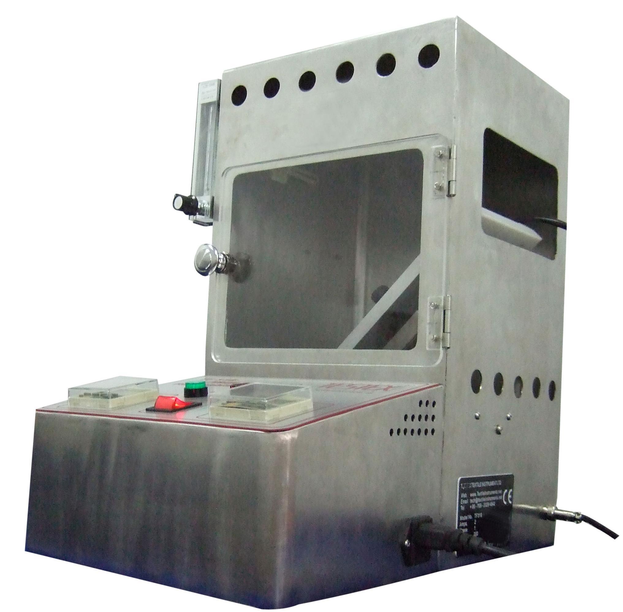 16 CFR 1611 Flammability Tester,SPI 45 Degree Flammability Tester.