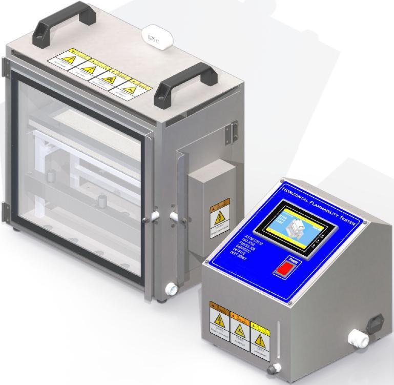 水平燃烧测试仪, 汽车内饰材料阻燃性试验机FMVSS 302 1