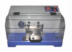钻绒性测试仪(摩擦法),绒包防钻绒性试验机GB/T 12705.1,BS EN 12132-1