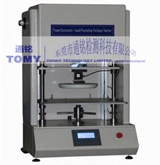 海棉反復壓縮疲勞試驗機,海綿定負荷衝擊疲勞測試儀GB/T 18941, GB/T 12825