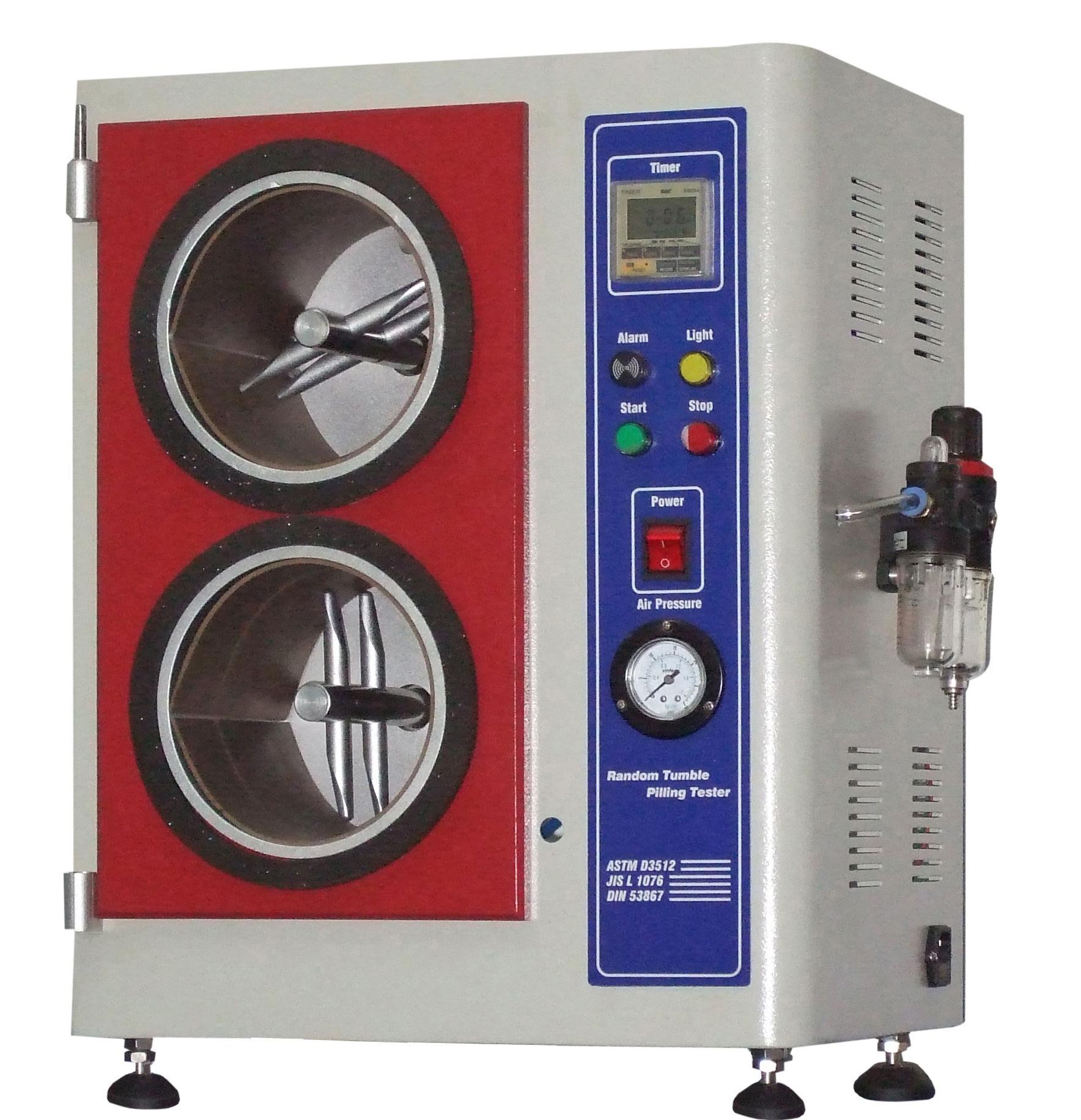 隨機翻滾式起毛起球測試儀,ASTM D3512, GB/T4802.4, ISO12945 1