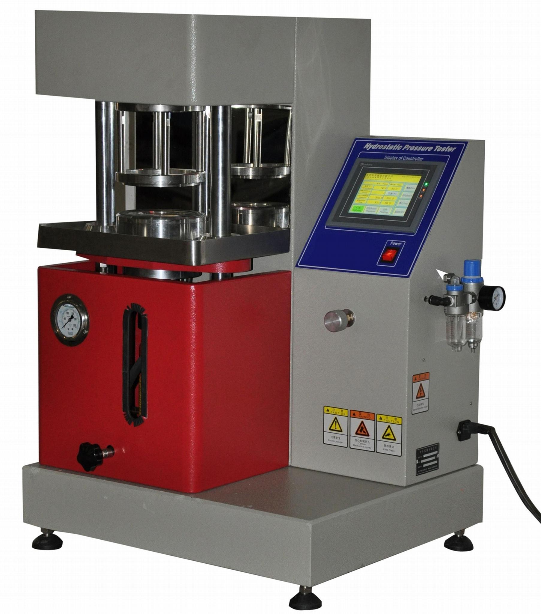 超高壓耐靜水壓測試儀,超高壓抗滲水性測定儀GB/T 4744廠家直供 1