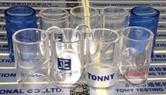 正品 標準透明小物件測試筒,彩色塑膠小零部件試驗器-禮品款