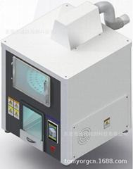 專業 海綿煙燻色牢度測試儀,泡棉耐燃氣煙霧試驗箱,現貨