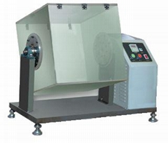 新标准 转箱法钻绒试验机,织物防钻绒性试验仪GB/T 14272-2021