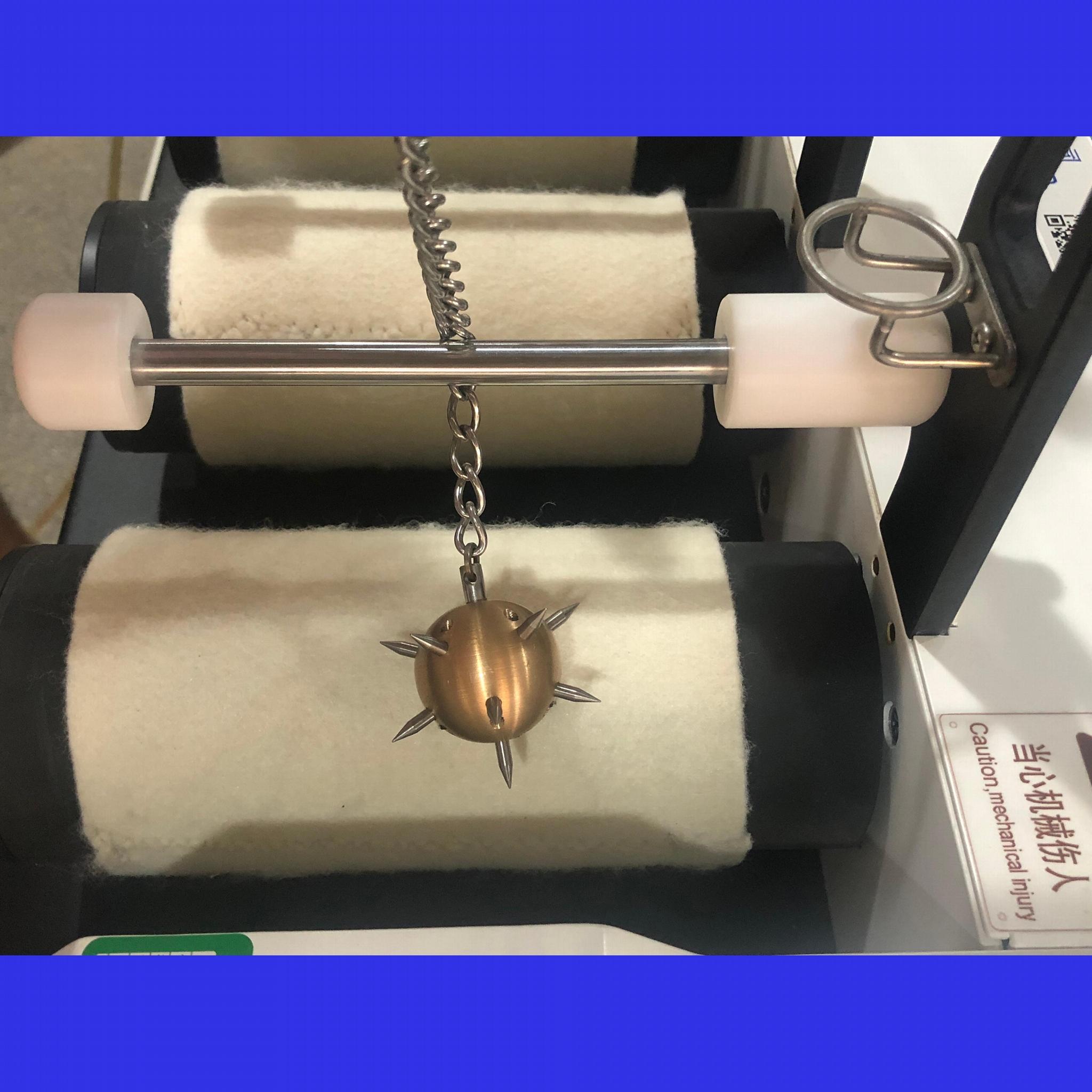 ICI织物勾丝性能测试仪,钉锤勾丝仪,抗钉锤钩丝试验机 3