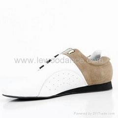 Guiarateed 100% genuine leather dance shoes,free custom