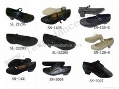 供應優質真皮西班牙舞蹈運動鞋