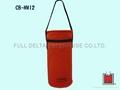 Non-woven tubular cooler bag