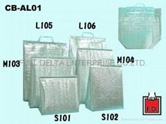 簡易型鋁箔保溫袋-規格尺寸