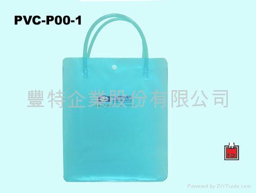 软管手提PVC袋 / 赠品礼品袋