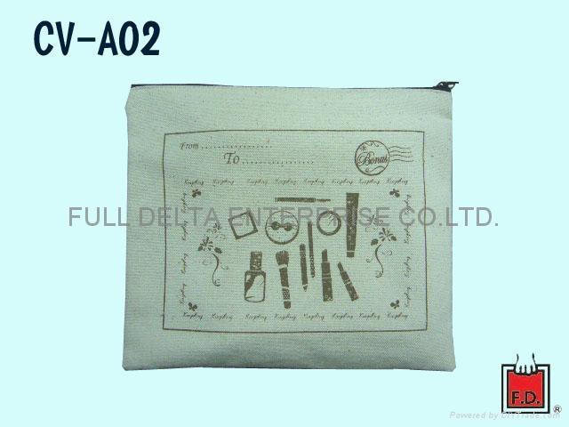 帆布 / 棉胚布 鉛筆袋 1