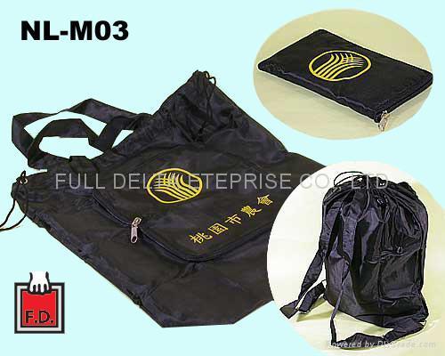 尼龍環保折疊袋 - 可提可背可收納