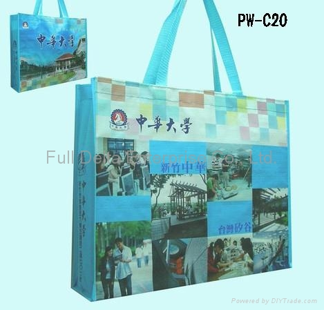 編織布展覽提袋(參展環保袋)