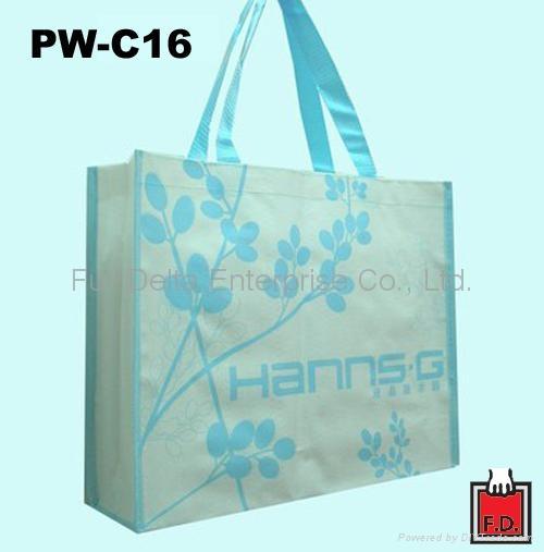 編織展覽提袋(參展環保袋)