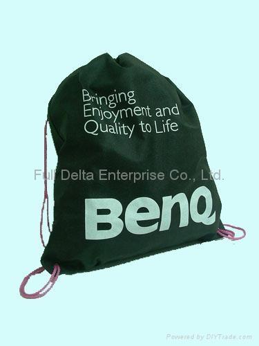 不織布環保袋  - 後背串繩袋 ( 電腦科技3C業者 )