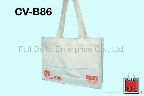 棉胚布購物袋 / 棉胚布環保袋
