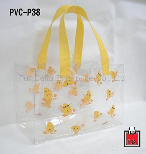 PVC巧克力购物袋(礼盒适用)