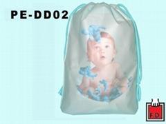 双层束口塑胶袋