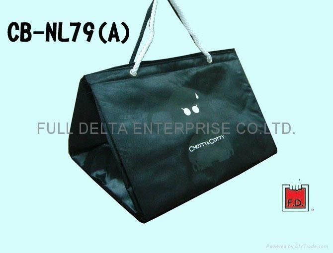 Jacquard cooler bag